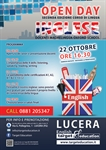E' tempo di imparare l'inglese! Open Day presso la English Target Education 22 ottobre 2016