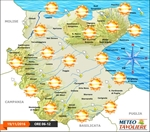 Meteo Weekend: nubi sparse alternate a schiarite con qualche occasionale fenomeno