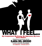 What j feel… Personale di Digital Art dell'artista Ilaria Del Grosso