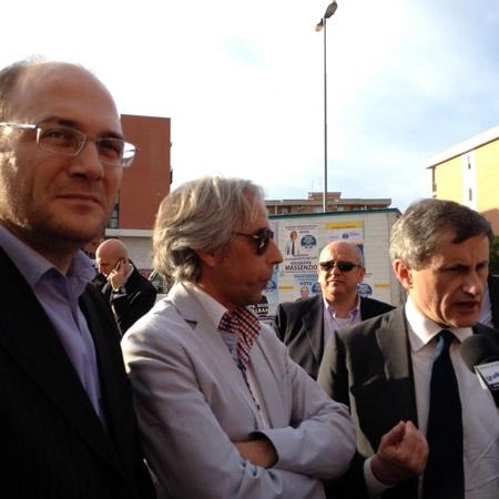 Gianni Alemanno A Lucera Per Presentare Fratelli D Italia Sindaco Giuseppe Massenzio Tra I Candidati L Ingegnere Giuseppe Albano