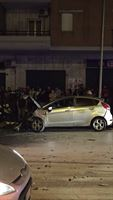Lucera, pauroso incidente in via Porta Foggia